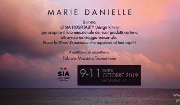Marie Danielle a SIA GUEST di Rimini